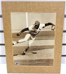Bob Gibson Autographed Matted Display