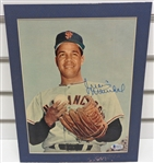 Juan Marichal Autographed Matted Display