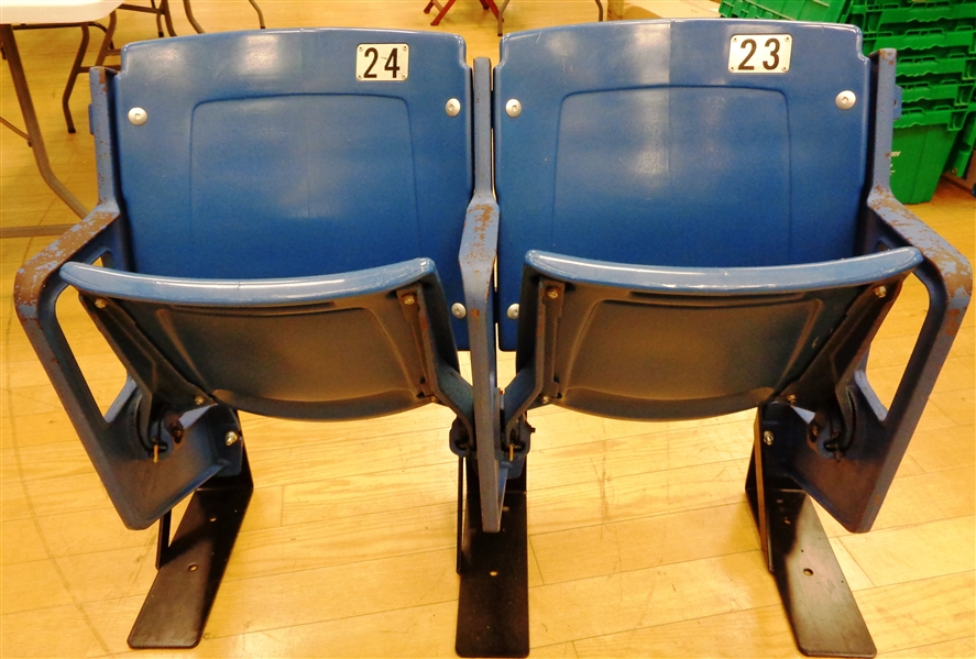Tiger Stadium Set of 2 Original Seats