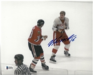 Vladimir Konstantinov Autographed 8x10 Fight Photo