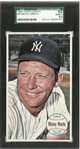 Mickey Mantle 1964 Topps Giants SGC 92 Graded