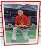 Woody Hayes Autographed Framed Photo