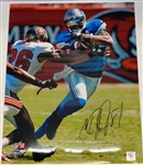 Calvin Johnson Autographed 16x20 Photo