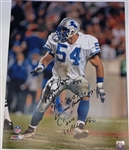 Chris Spielman Autographed 16x20 Photo w/ 4 Inscriptions