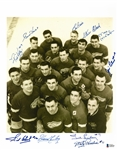 1949/50 Red Wings 11x14 Signed by 10