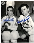 Maurice & Henri Richard Autographed 8x10 Photo