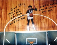 Dave Bing 16x20 Signed w/ 7 Inscriptions