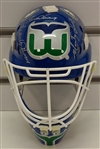 Gordie, Mark & Marty Howe Autographed Hartford Whalers Mask