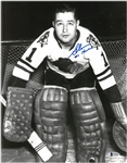 Glenn Hall Autographed 11x14 Photo