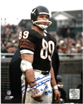 Mike Ditka Autographed 8x10 Photo w/ HOF