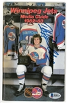 Dale Hawerchuk Autographed 1982/83 Jets Media Guide
