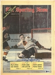 Tony Esposito Autographed 1970 Sporting News