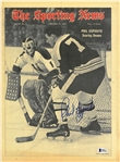 Phil Esposito Autographed 1969 Sporting News