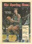 Dave Cowens Autographed 1972 Sporting News