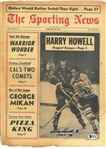 Harry Howell Autographed 1967 Sporting News