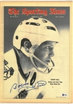Bobby Hull Autographed 1969 Sporting News