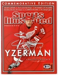Steve Yzerman Autographed Commemorative Sports Illustrated