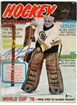 Gerry Cheevers Autographed 1976 Hockey Pictorial