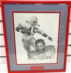 Archie Griffin Autographed Framed 8x10