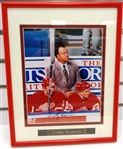 Scotty Bowman Autographed Framed 8x10 Photo