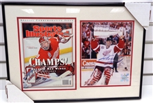 Dominik Hasek Autographed Framed 8x10/SI