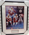 McCarty/Draper/Maltby Autographed Framed 16x20