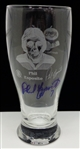 Phil Esposito Autographed Etched Pint Glass