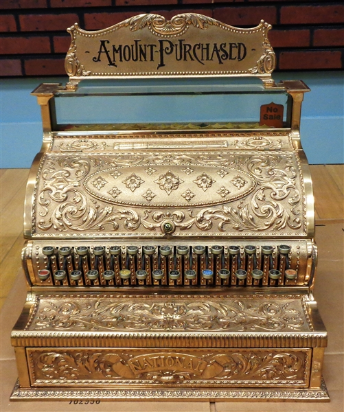 National Cash Register Model 35 (1897) from Chuck Dalys collection (pick up only)