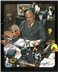 Mel Blanc Autographed Bugs Bunny & Gang 8x10 Photo