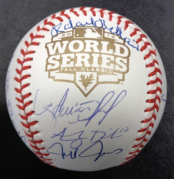 2012 Detroit Tigers Signed World Series Baseball