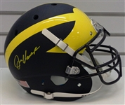 Jim Harbaugh Autographed Full Size Authentic Helmet