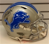 Matthew Stafford Autographed Authentic Speed Helmet