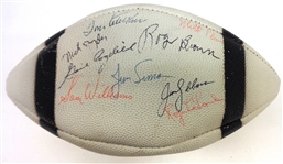 1964 Detroit Lions Team Signed Football