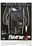 Ari Lehman Signed Friday The 13th 11x17 Movie Poster