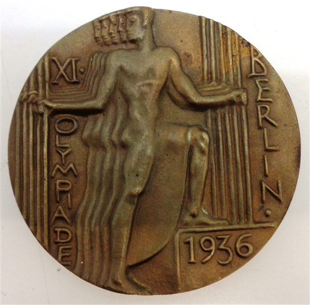 1936 Berlin Olympic Games Bronze Participation Medal