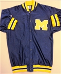 Chris Webber Used Michigan Wolverines Warm Up Jacket