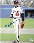 "Charlie Sheen Autographed 11x14 ""Major League"" Ricky Vaughn Photo"