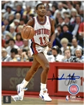 Isiah Thomas Autographed 8x10 Photo