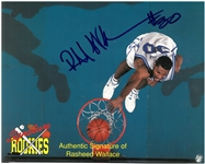 Rasheed Wallace Autographed 8x10 Photo