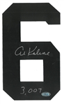 Al Kaline Autographed Tigers Jersey Number w/ 3007