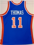Isiah Thomas Autographed Pistons Mitchell & Ness Replica Jersey