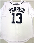 Lance Parrish Autographed Tigers Jersey