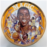 "Magic Johnson 10"" Collectors Plate"