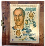 "Gordie Howe ""Unretirement"" Scrapbook"