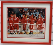 Russian 5 Autographed Framed 11x14 Photo