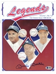 Mickey Mantle Autographed Legends Magazine