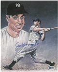Joe DiMaggio Autographed 8x10 Photo