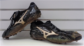 Pat Neshek Autographed Game Used 2005 Cleats