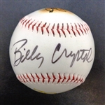 Billy Crystal Autographed Baseball