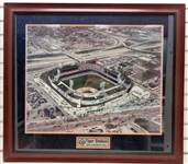 Tiger Stadium 32x36 Framed Photo Signed by 25+ - Pick up Only